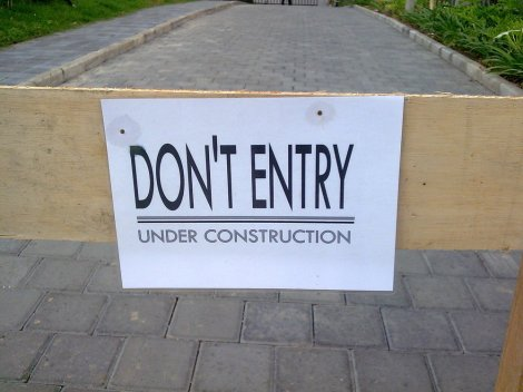 #EngPic: DON'T ENTRY