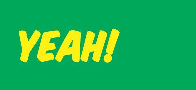 "#GrammarTrivia: ""yeah"""