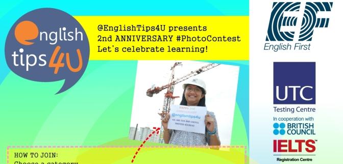 EnglishTips4U #PhotoContest Winners