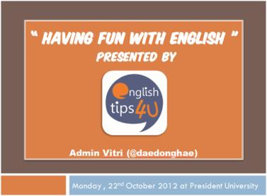 Having fun with englishJPEG