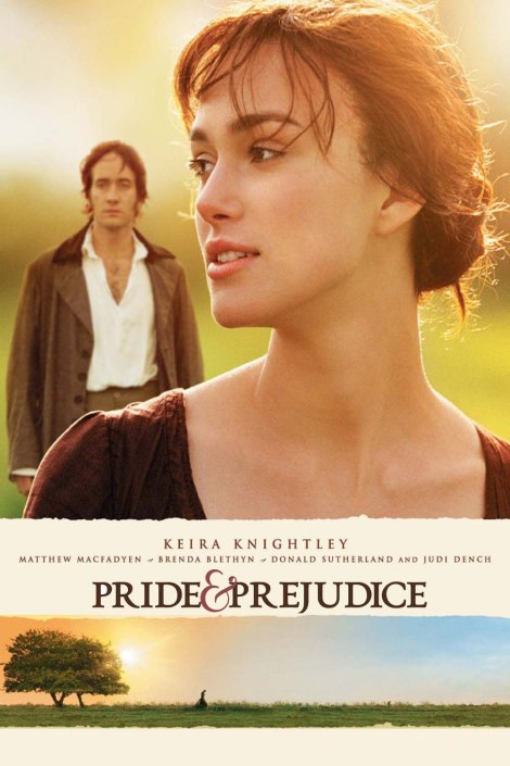 pride and prejudice 2005 poster