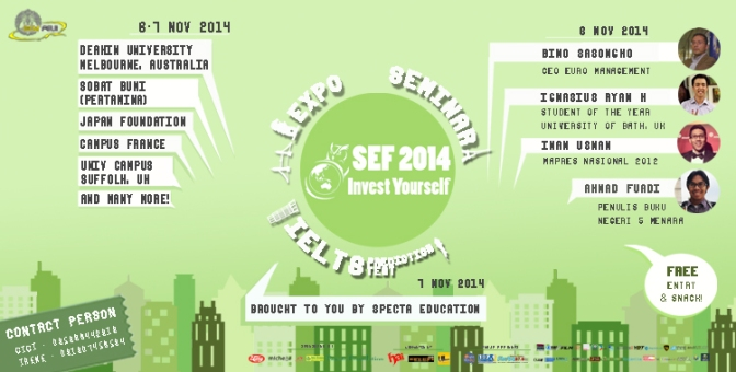 @SEFFEUI – Scholarship and Education Fair 2014 (Press release)