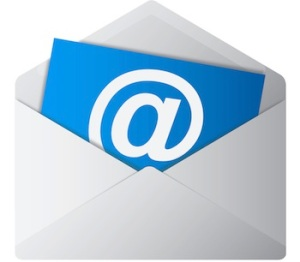 Blue Email Envelope