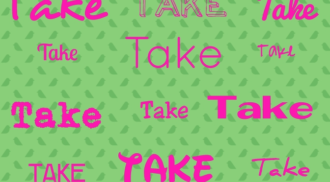 "#EngVocab: Phrasal verbs with ""take"""