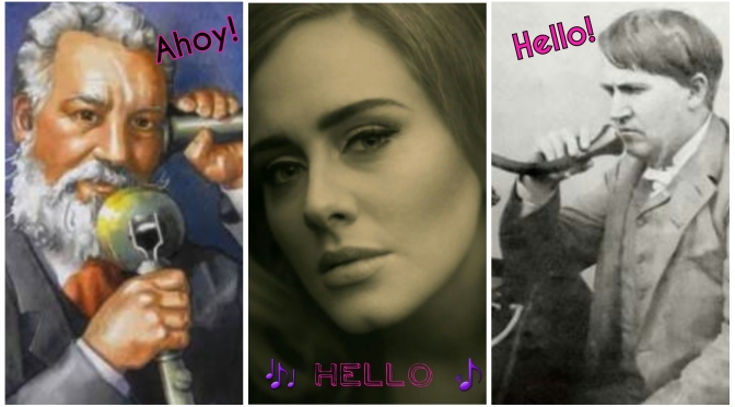"#EngKnowledge: The story of ""hello"""