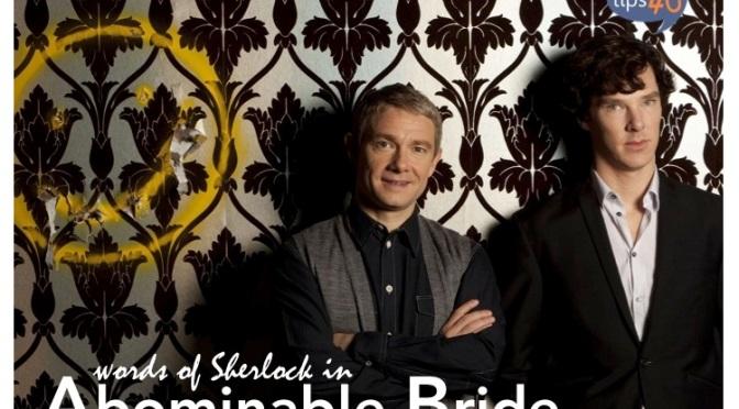 #EngVocab: Words of Sherlock in Abominable Bride
