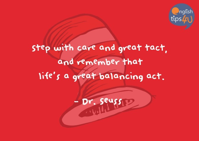 #EngQuote: Quote by Dr. Seuss