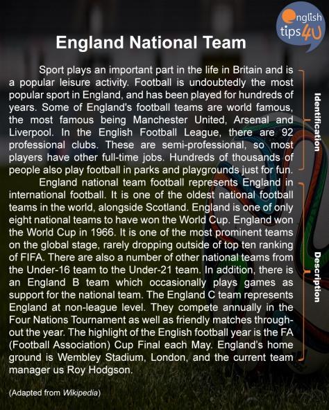 Contoh Teks Deskripsi Bahasa Inggris