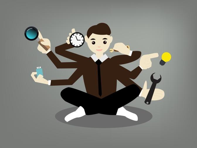 #IOTW: Idioms for overwhelmed multitasker