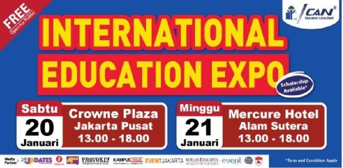 Hadiri Pameran Pendidikan Luar Negeri Terbesar 2018